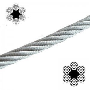 Wire Rope - Galvanised Fibre Core