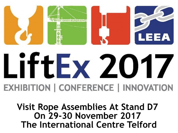 LiftEx 2017 Sees Rope Assemblies Exhibiting