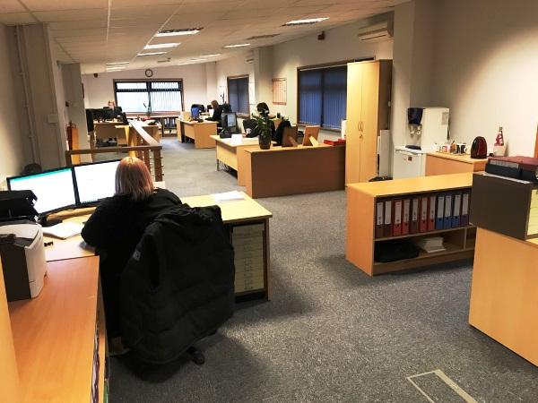 Office Refurbishment at Rope Assemblies