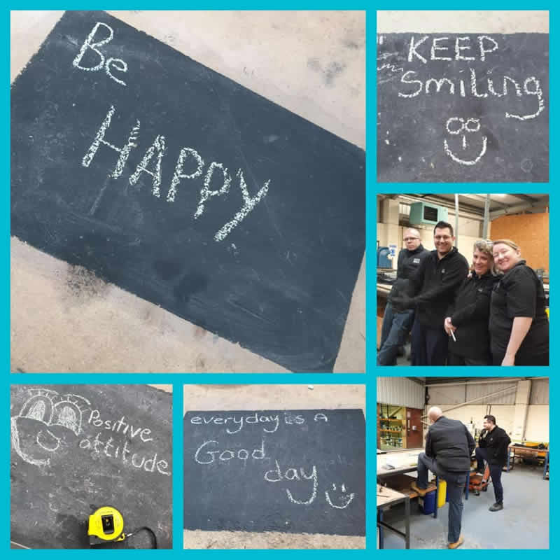 Positive Attitude, Happy Staff & A Busy Factory
